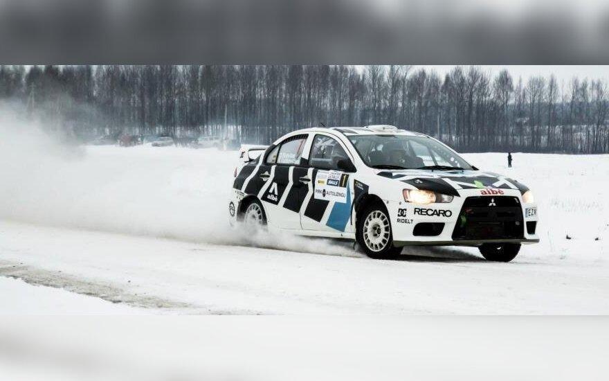 "Dominykas Butvilas ""Halls Winter Rally 2013"" (nuotr. S.Masono)"