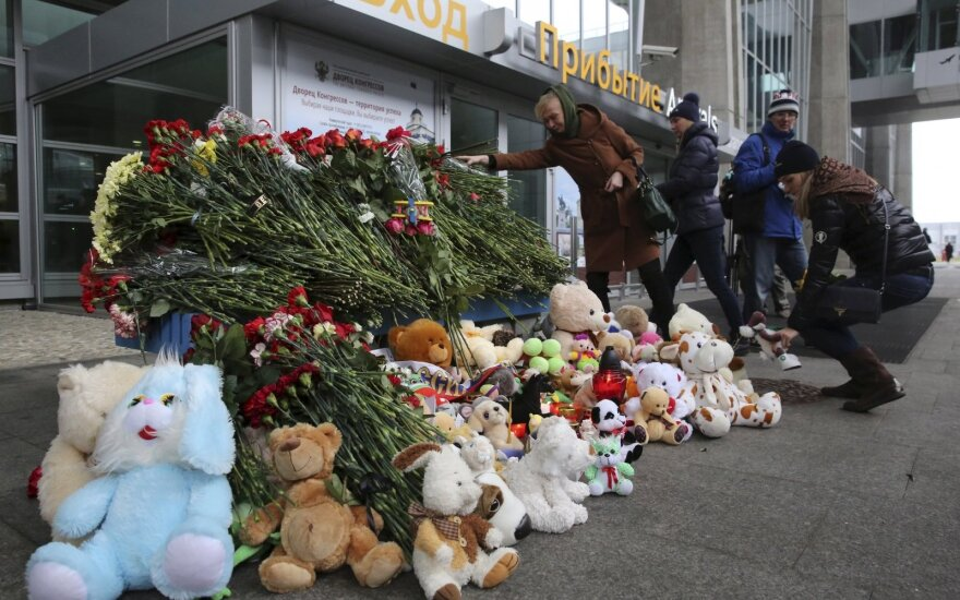 Lithuania's foreign minister expresses condolences over Russian plane crash