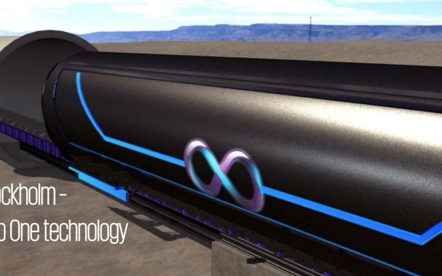 Hyperloop One technology