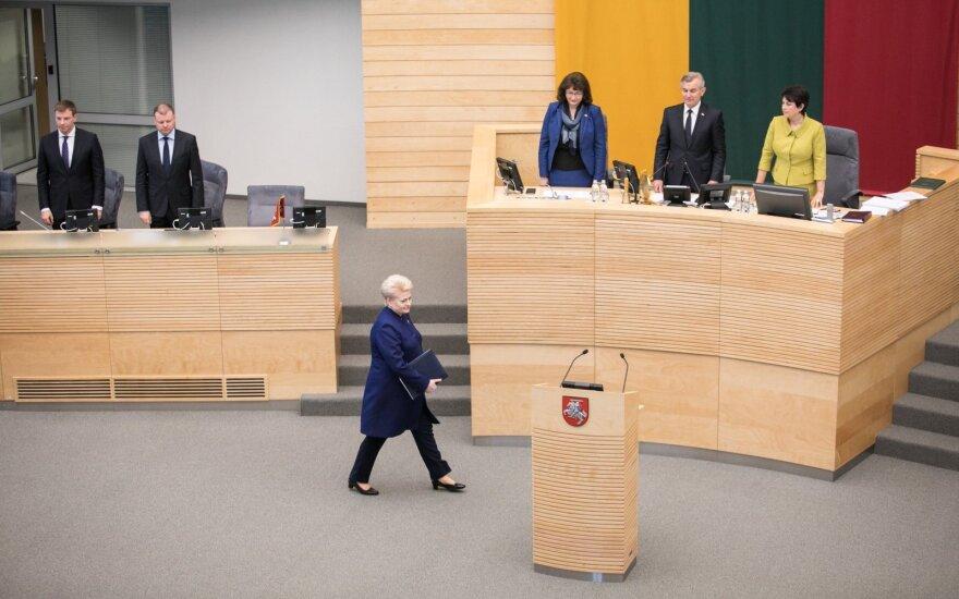 Grybauskaitės palikimas pasijus ir 2020 metais: laukia sunkūs pasirinkimai
