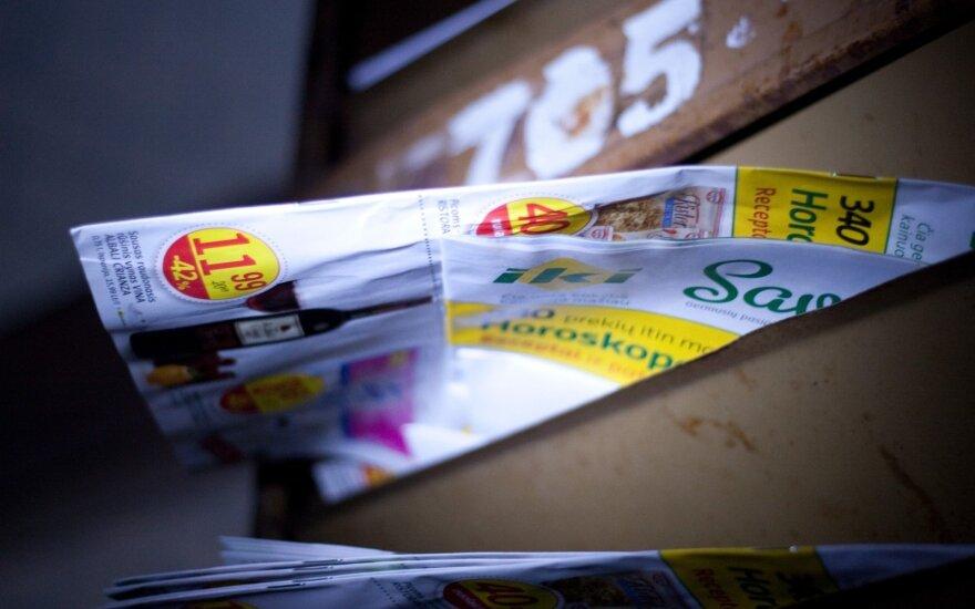 Reklama pašto dėžutėje