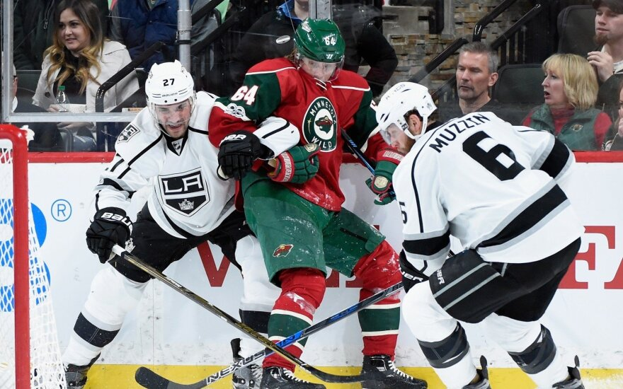 "NHL: ""Wild"" – ""Kings"""