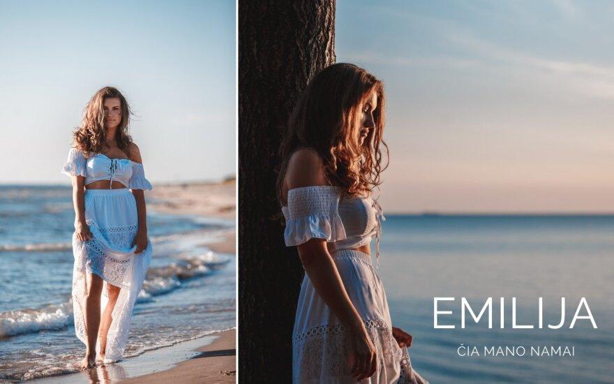 Emilija Katauskaitė pristato pirmąją savo kūrybos dainą