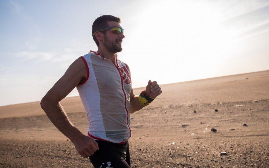 Aido Ardzijausko 100 dienų bėgimas nuo Dakaro iki Vilniaus, Afrikos etapa