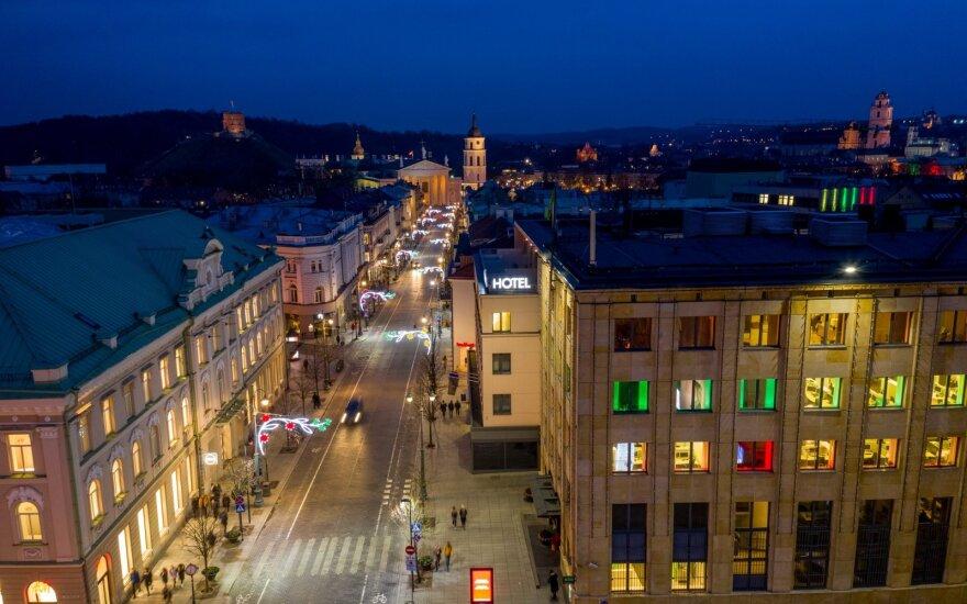Vilniaus naktinės spalvos