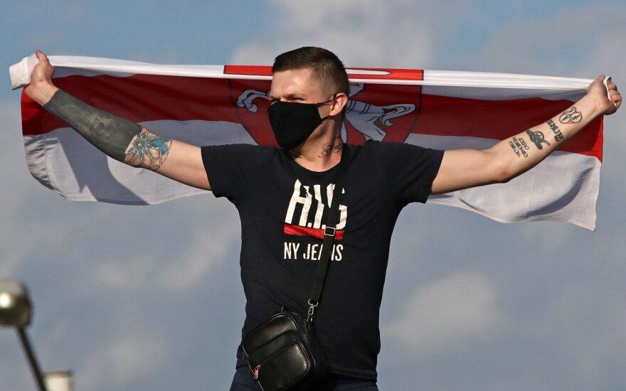 Minske sulaikomi taikios protesto akcijos dalyviai
