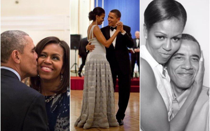 Barackas ir Michelle Obamos