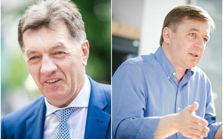 A. Butkevičius ir R. Karbauskis