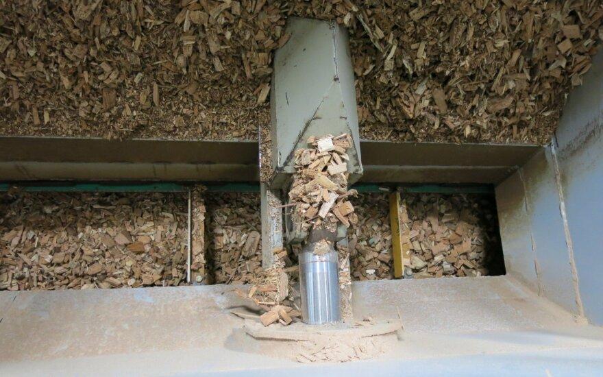Biokuro sektoriaus atstovai pateiks savo siūlymus dėl brangstančio biokuro