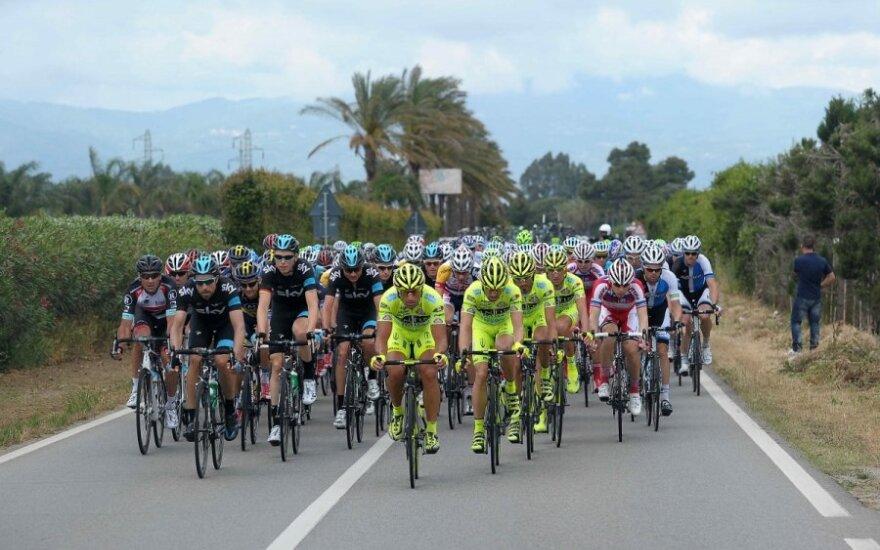"""""""Giro d'Italia"""" dviračių lenktynės"""