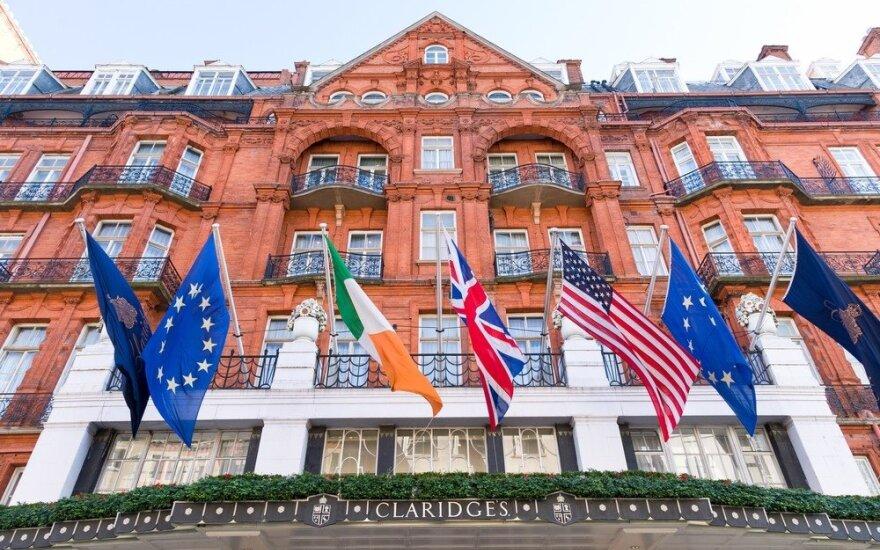 """Londono viešbutis """"Claridges"""""""