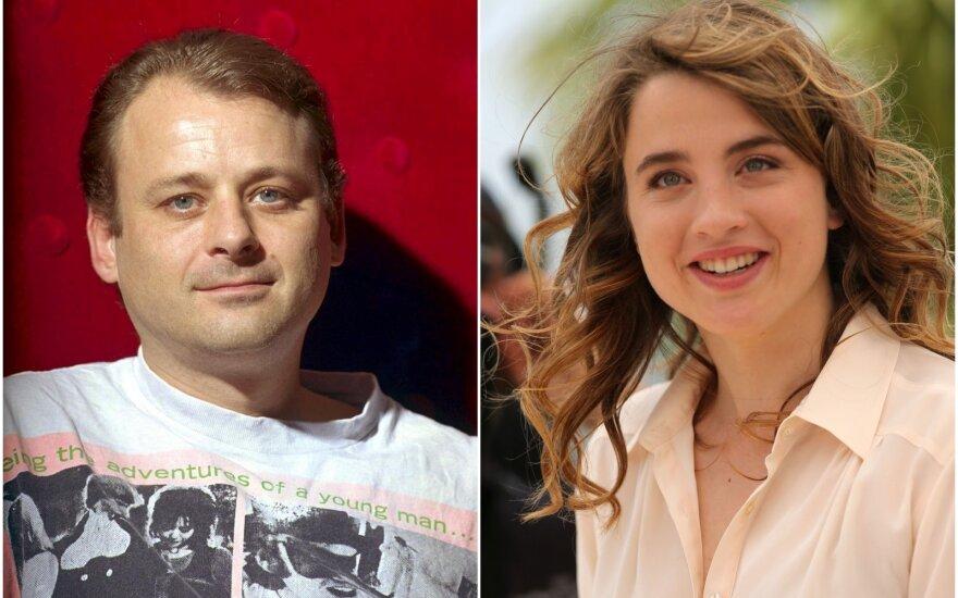 režisierius Christophe Ruggia ir aktorė Adel Haenel