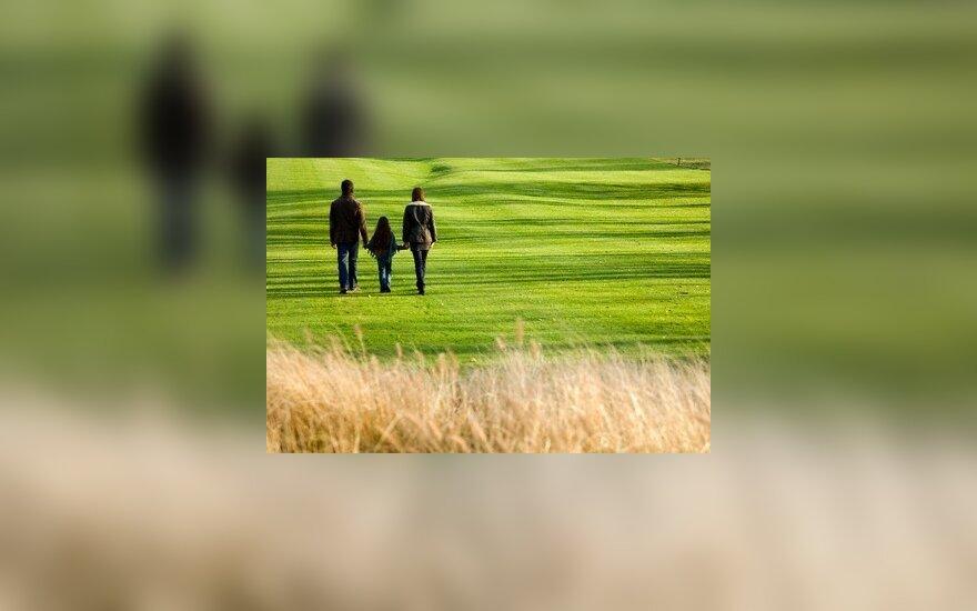 Ketvirtadalis šeimų santuokos negrindžia artimais tarpusavio santykiais