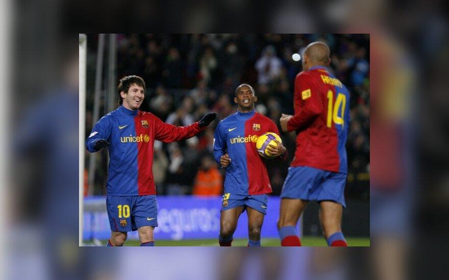 """""""Barcelona"""" prarado taškus Sevilijoje"""