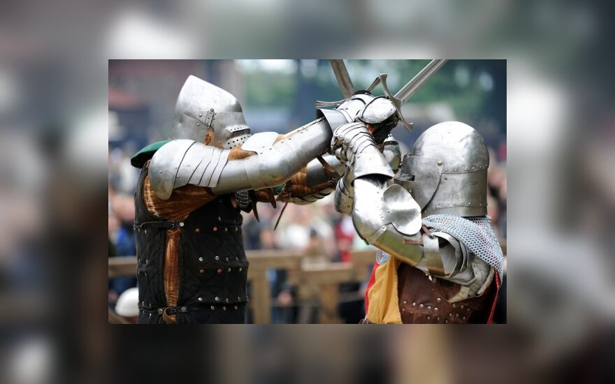 Viduramžių riterių kovos