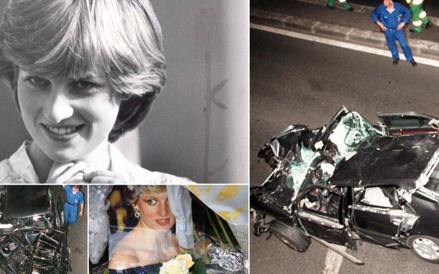 Princesė Diana ir jos žūties vieta