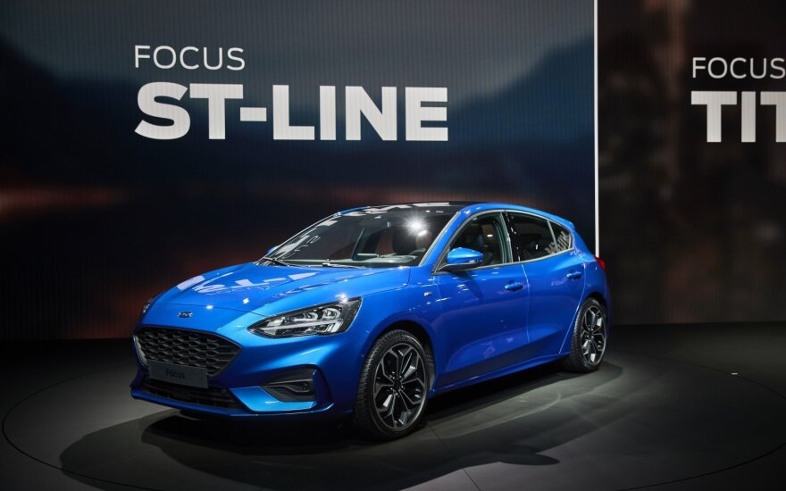 "Ketvirtosios kartos ""Ford Focus"""