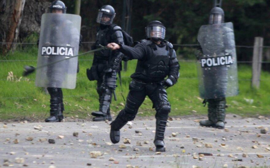 Kolumbijos kalėjime per koronaviruso baimės pakurstytas riaušes žuvo 23 kaliniai