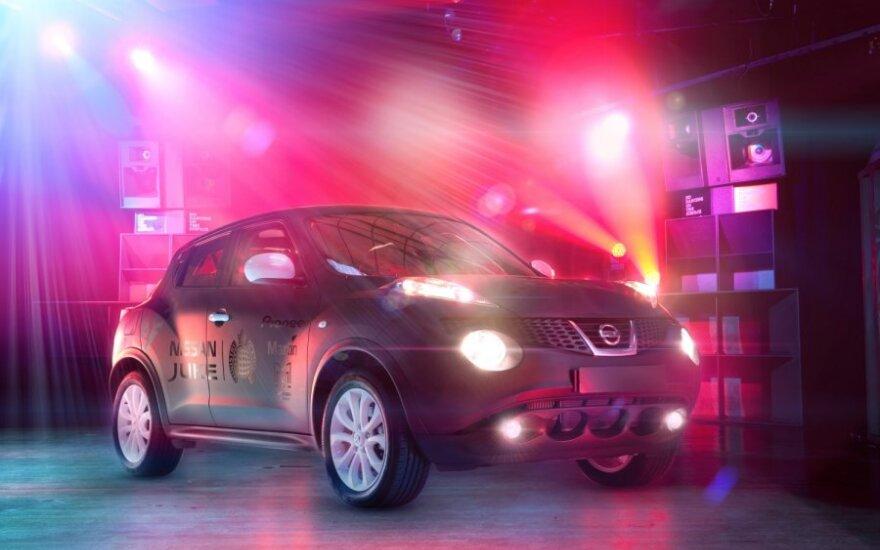 Nissan Juke Box projektas