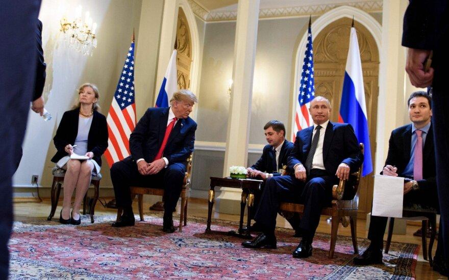 Marina Gross, Donaldas Trumpas, Vladimiras Putinas