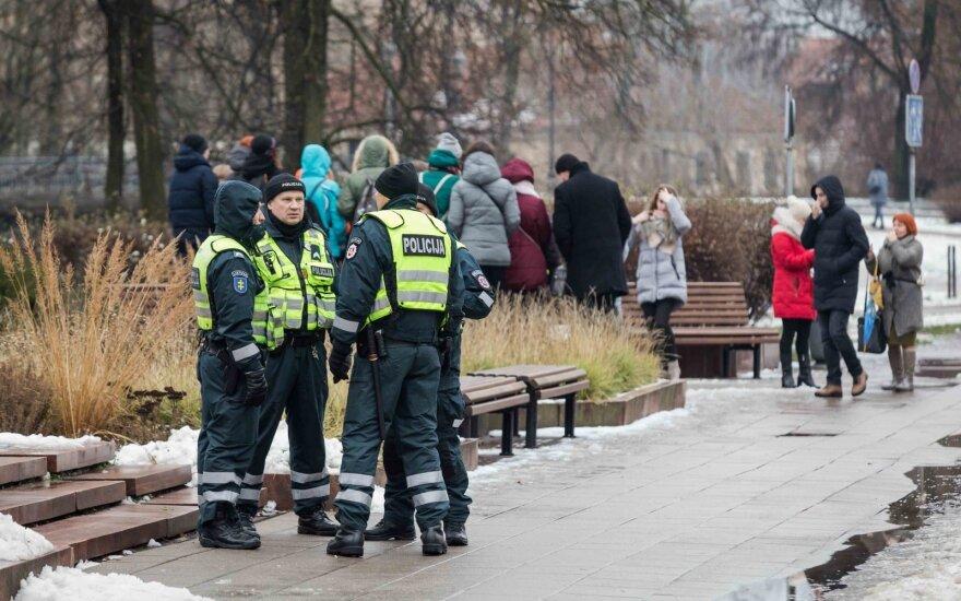 Policijos įspėjimus prieš mitingą Lietuvoje gavo ne vienas žmogus: pasijutau kaip tikras banditas