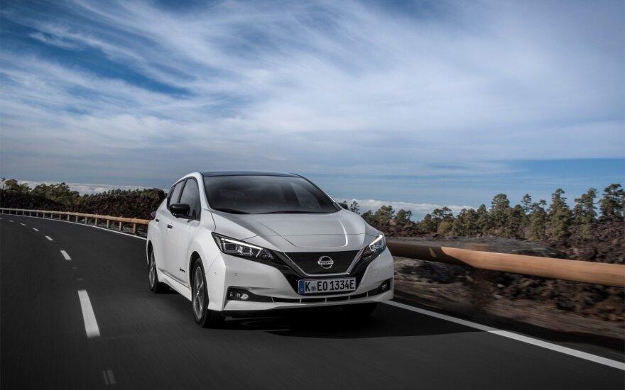 """Nissan Leaf"" (asociatyvi nuotr.)"