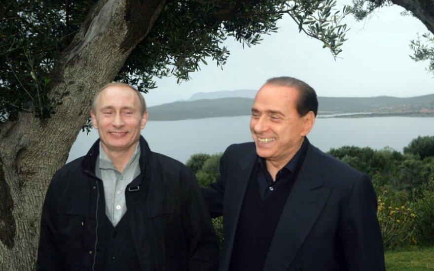 Silvio Berlusconi, Vladimiras Putinas