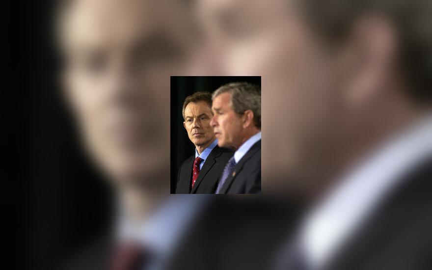 G.W.Bush ir T.Blair