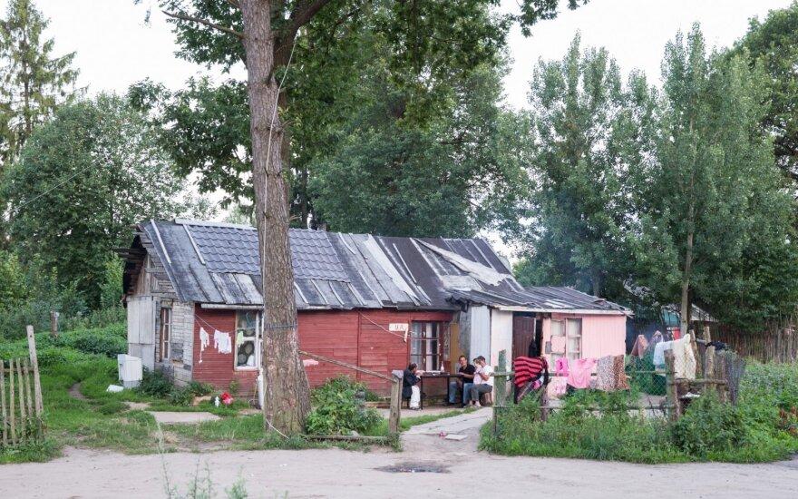Roma settlement of Vilnius