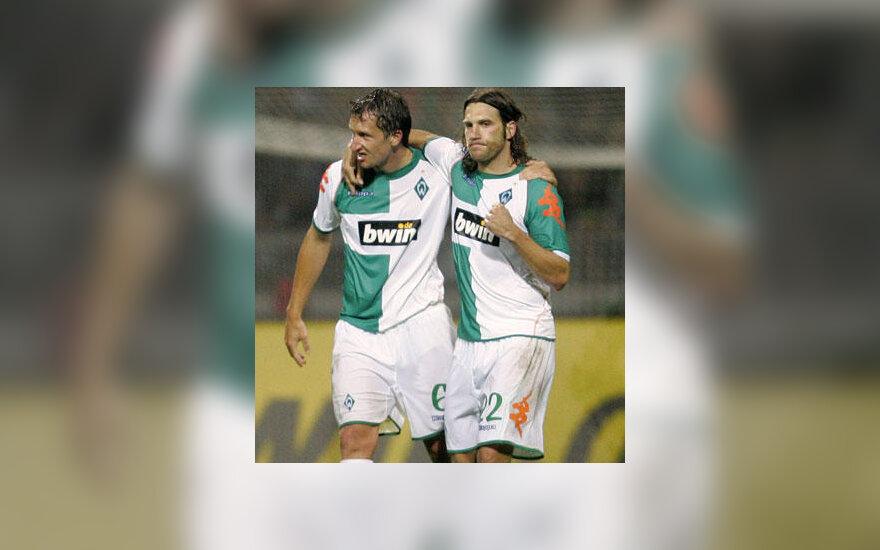 "Frankas Baumannas ir Torstenas Fringsas (""Werder"")"