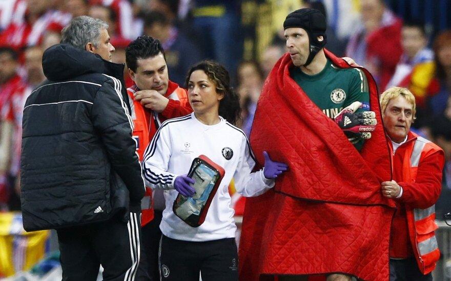 Jose Mourinho ir Eva Carneiro