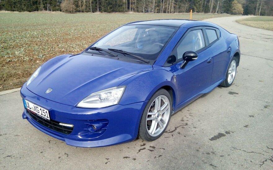"""Pasiūlymas ieškantiems išskirtinio automobilio: galite įsigyti pavadintą lietuviškai – """"Erelis"""""""
