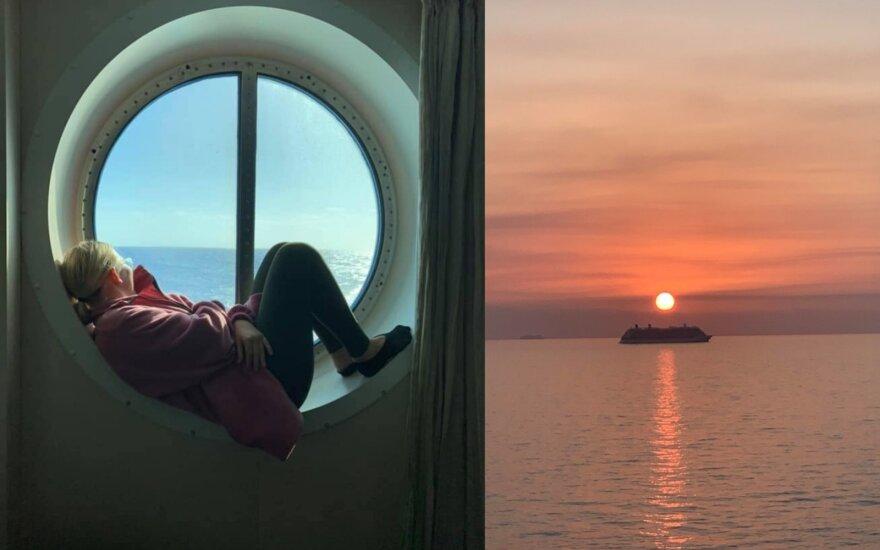 Kruiziniame laive dirbanti lietuvė: negalėjau net baisiausiame košmare susapnuoti, į kokią padėtį papulsiu