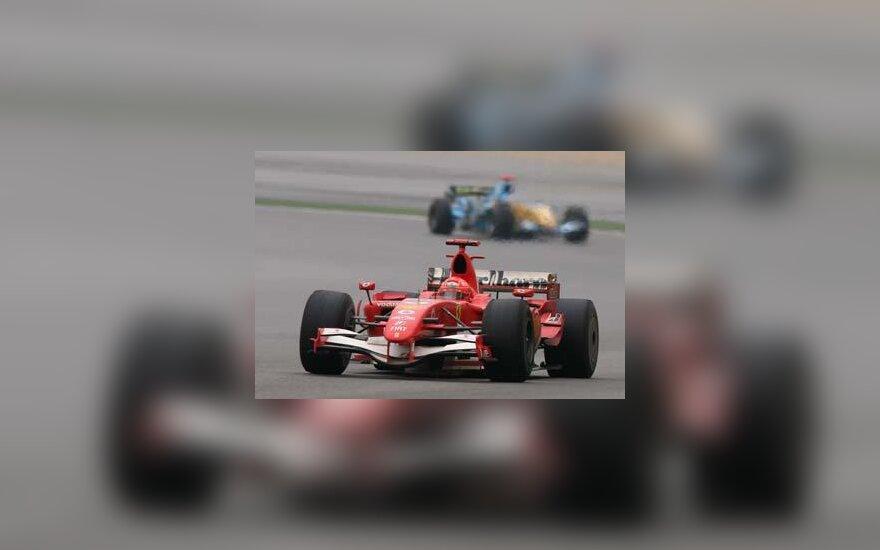 Michael Schumacher Kinijos GP nugalėtojas