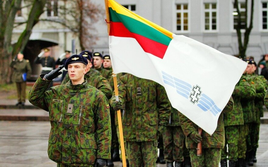 Lithuanian troops take part in international air force exercise in Czech Republic