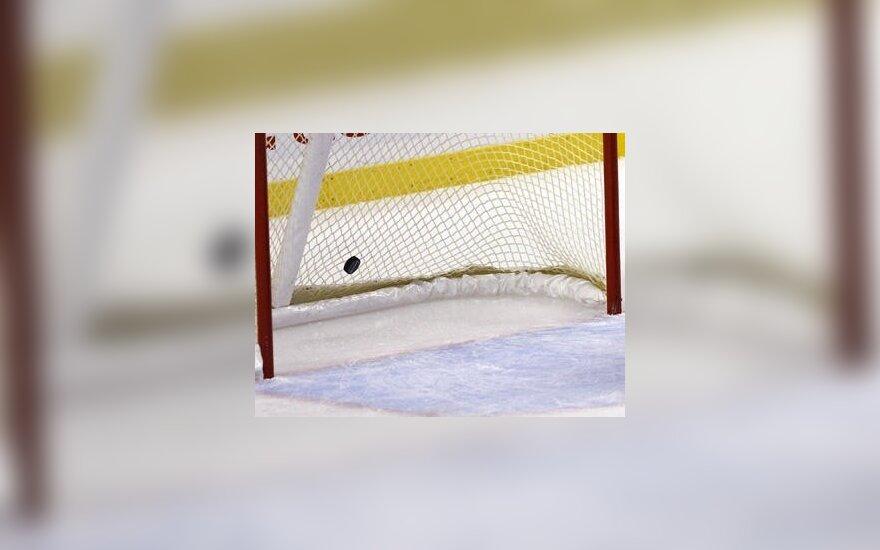 """""""Vanvita"""" šalies ledo ritulio pirmenybėse šventė dešimtąją pergalę iš eilės"""