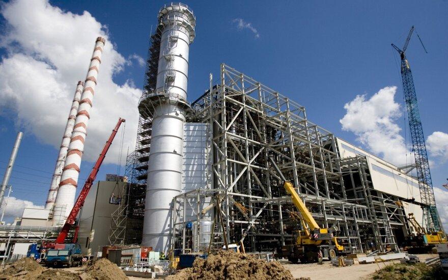 Elektrą gaminti pradėjo rezervinis Elektrėnų kombinuoto ciklo blokas