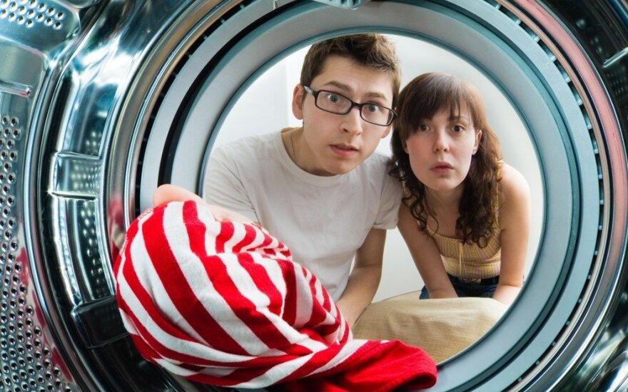 Kiekvienas efektyvesnės skalbyklės ciklas vartotojams kainuoja pigiau
