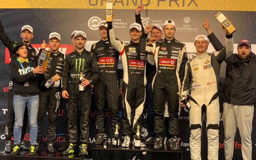 """Šiaurės šalių čempionato NEZ6H ilgų nuotolių lenktynėse pirmavo """"Circle K Racing team"""""""