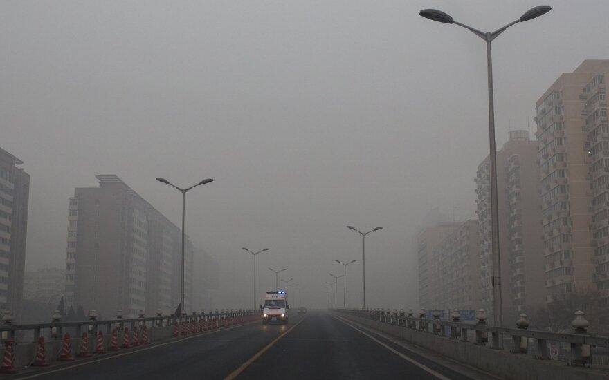 Oro užterštumas Kinijoje