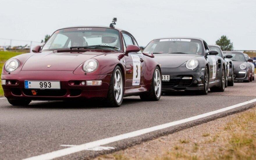Porsche Klubas Lietuva važiavimai