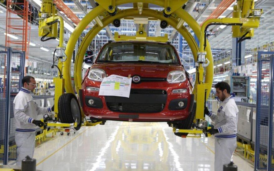 Fiat gamyba