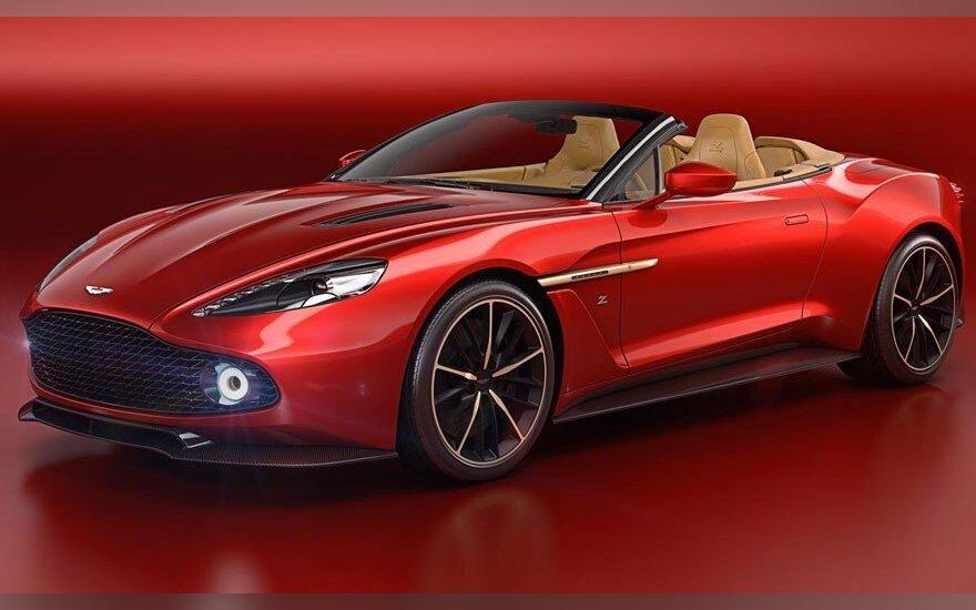 """Aston Martin Vanquish Zagato Volante"""