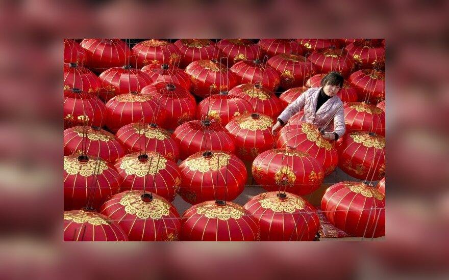 Kinijos ūkio augimas išlieka spartus