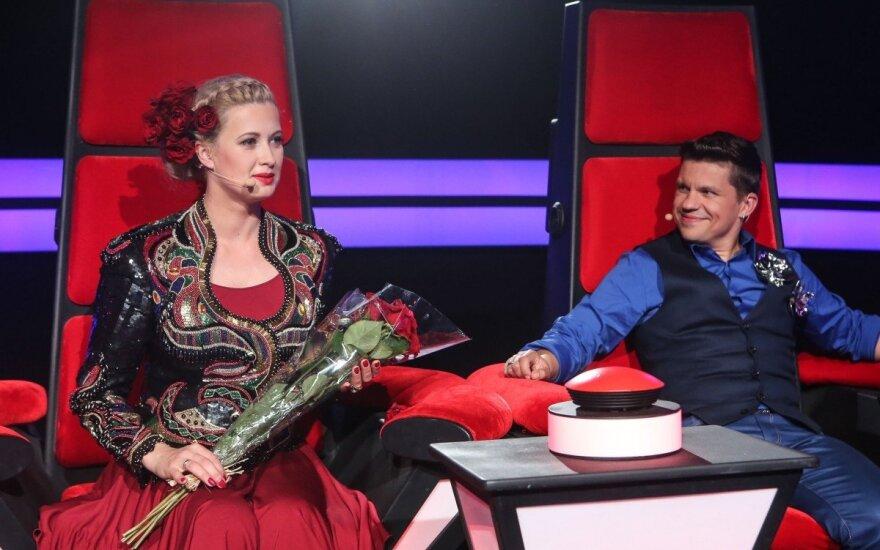 Deivis Norvilas su žmona Renata