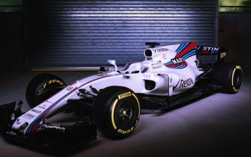 "F-1 ""Williams"" naujas automobilis / Foto: williamsf1.com"