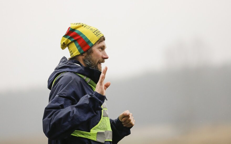 Ultramaratonininkas Aidas Ardzijauskas pribėgo Lietuvą