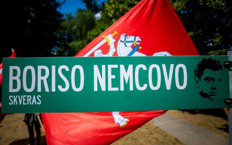 B. Nemtsov square sign