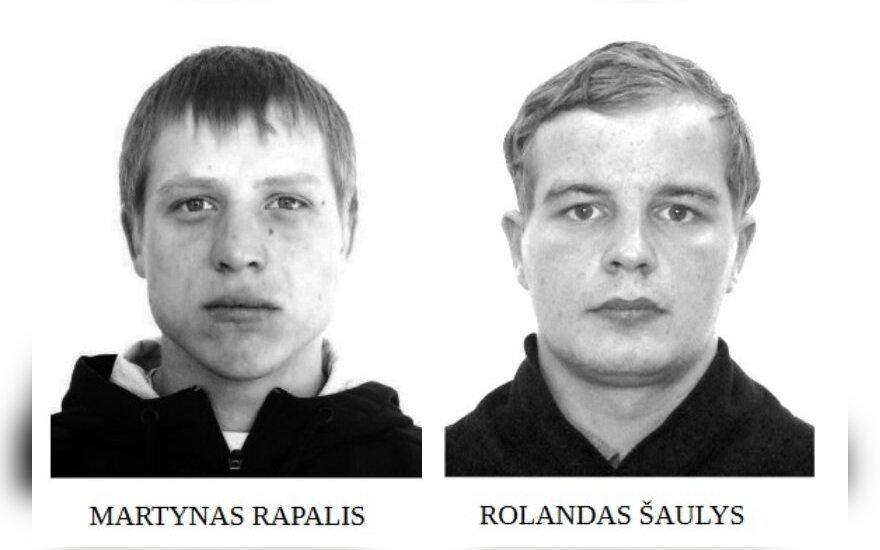 Telšių policija ieško nuo teisingumo besislapstančių įtariamųjų