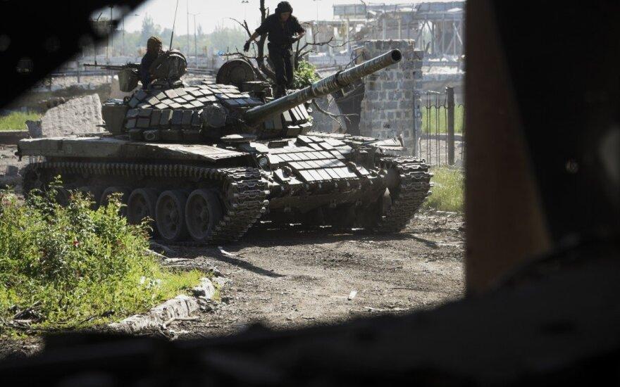 Iš Ukrainos separatistų vado – nerimą keliantys grasinimai: žada didžiules kovas